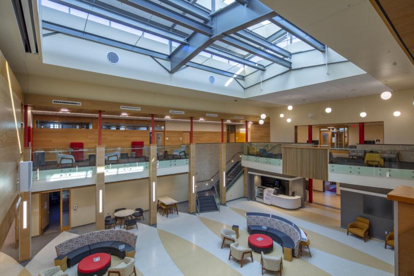 Photo of SUNY Cortland Moffett Center Renovation