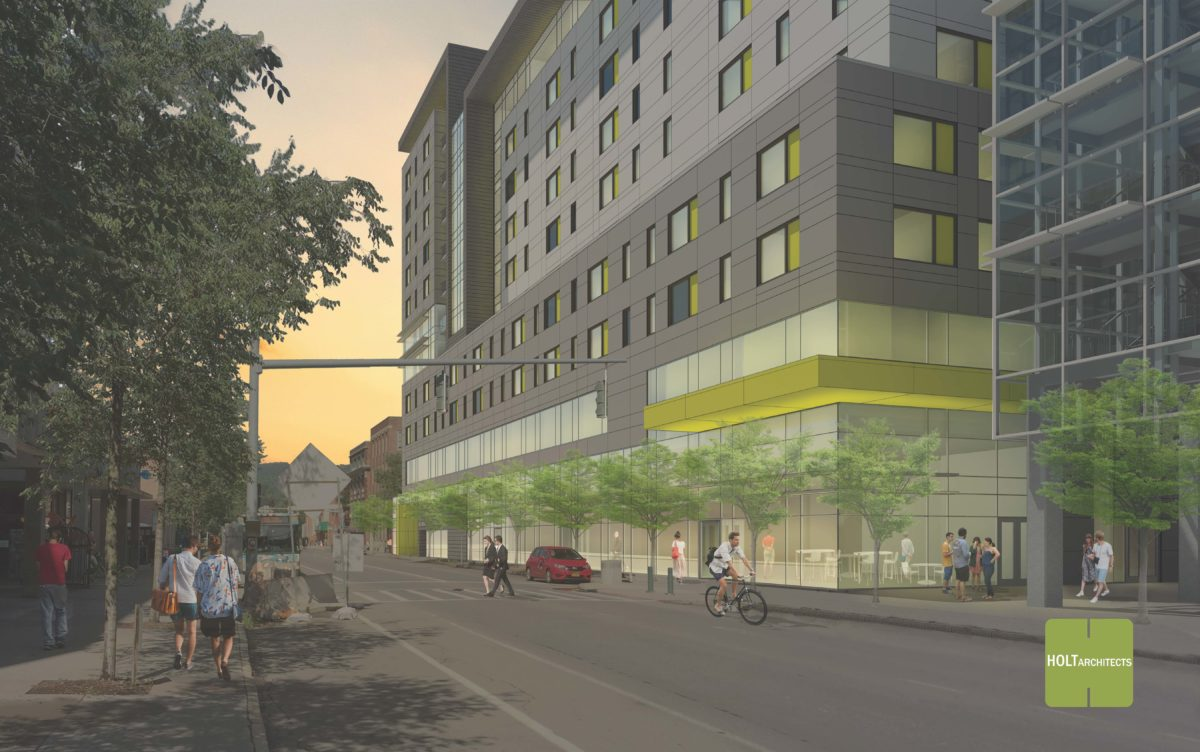 Green Street Parking Garage Development