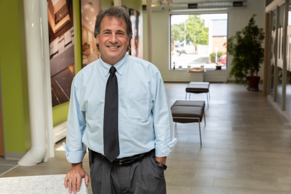 Photo of new HOLT Architects President, Paul Levesque