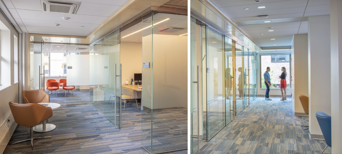 Photo of CFCU's new Transformation Center in Ithaca, NY
