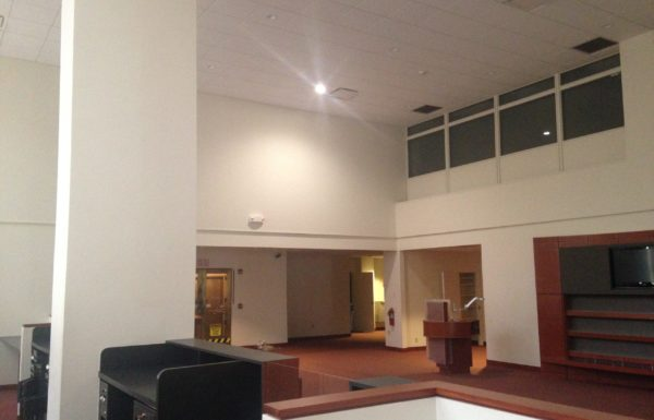 Photo of the existing conditions for CFCU's Transformation Center in Ithaca, NY